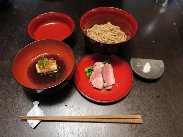 合鴨農法の鴨つけ麺