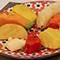 タイのマンゴーライスにならってフルーツ丼